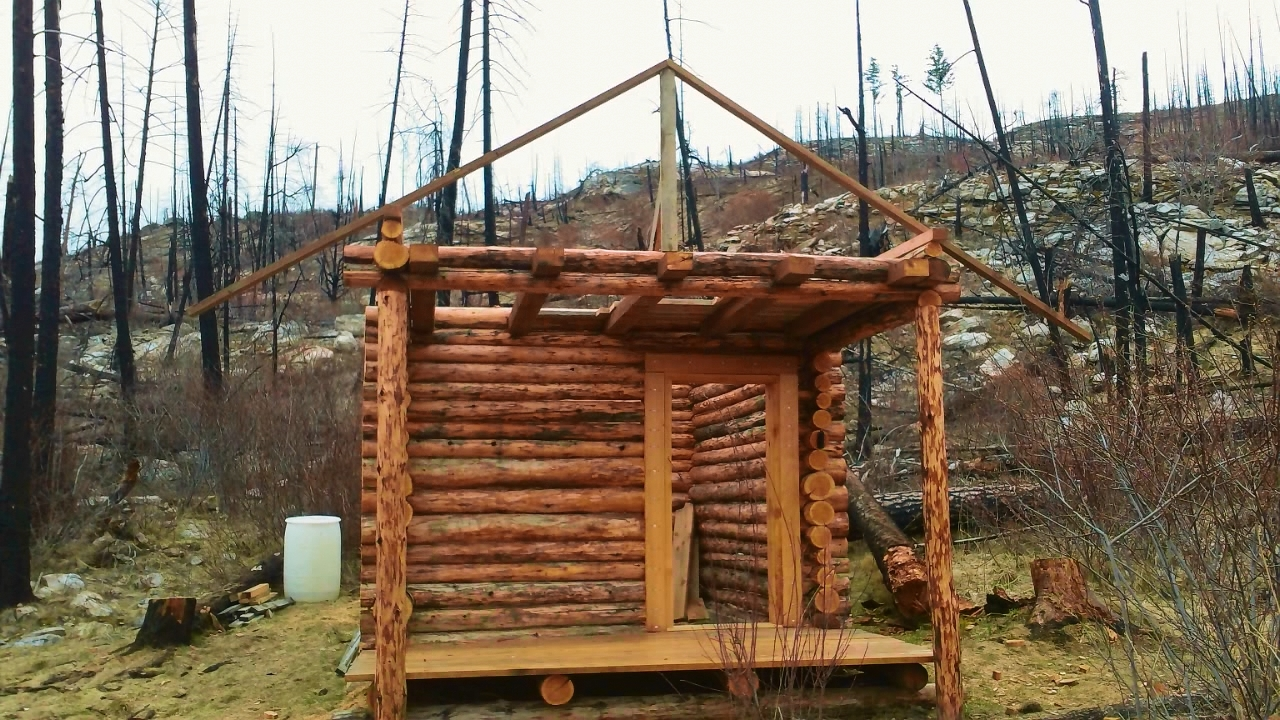 Really Cool DIY Video : How to build an Ultimate Survival Log Cabin, A ...