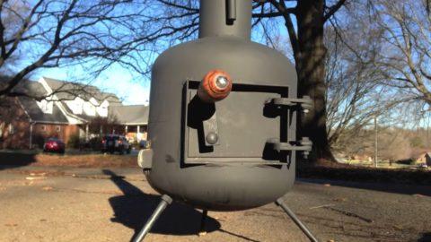 Propane Tank Wood Stove WB Designs - Propane Tank Wood Stove WB Designs