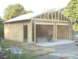 This Video Shows Step By Step Pictures Of Me Building A 24X24 Garage.The  First Video Shows Steps Involving How To Pour Footings, Walls, Floors And  Framing ...