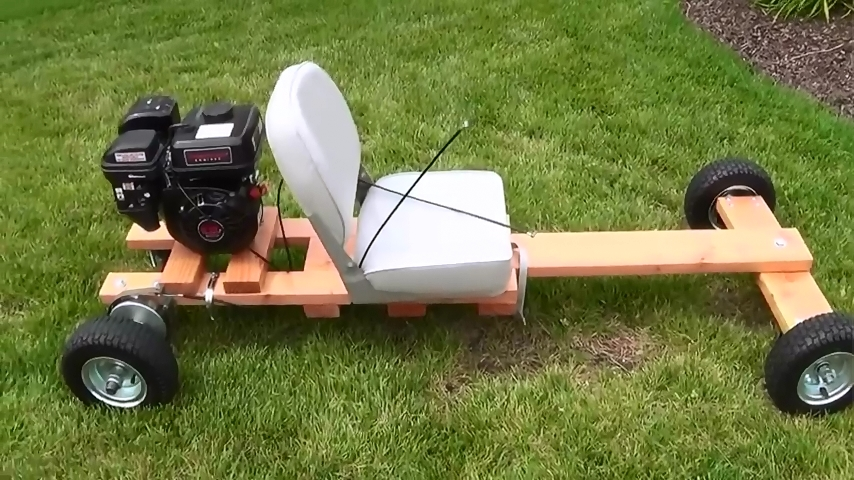 How to build a Homemade Wood Go kart from scratch – Step by step ...