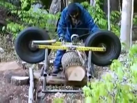Bandsaw Mill For Sale >> DIY Video :How to build your own Homemade Lumber Mill from ...