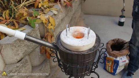 How to recycle scrap metal in the backyard by building a ...