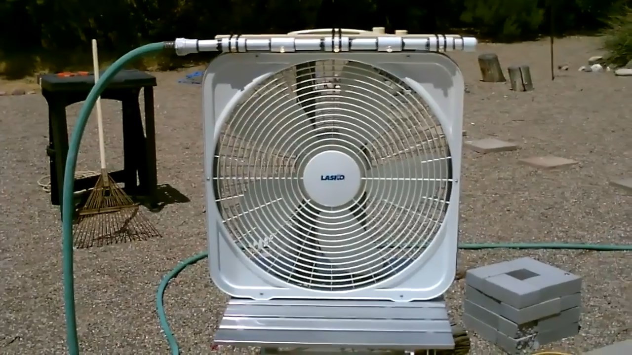 Ac Misting System : Diy cool mist fan projects