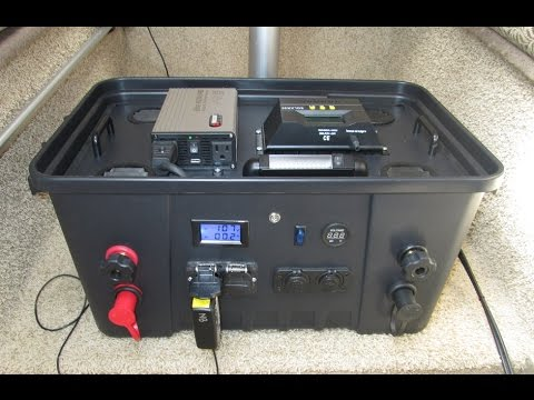 Diy Video Build Homemade Super Efficient Portable Solar Generator on solar panel diagram wiring
