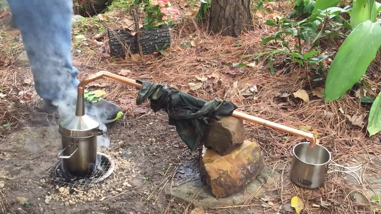 Camping Water Distiller ~ How to build an emergency water distillation still for
